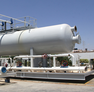SUPPLY OF THREE PHASE INLET SEPARATOR MBD-100
