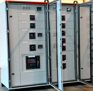 LV POWER DISTRIBUTION PANEL AND CENTRALIZES MANAGEMENT SYSTEM